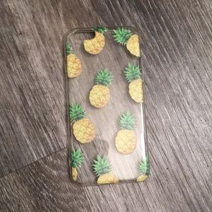 Accessories - 6/$15 New Summer Pineapple Iphone case